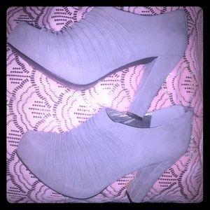 Shoes - Zip up heels size 8.5
